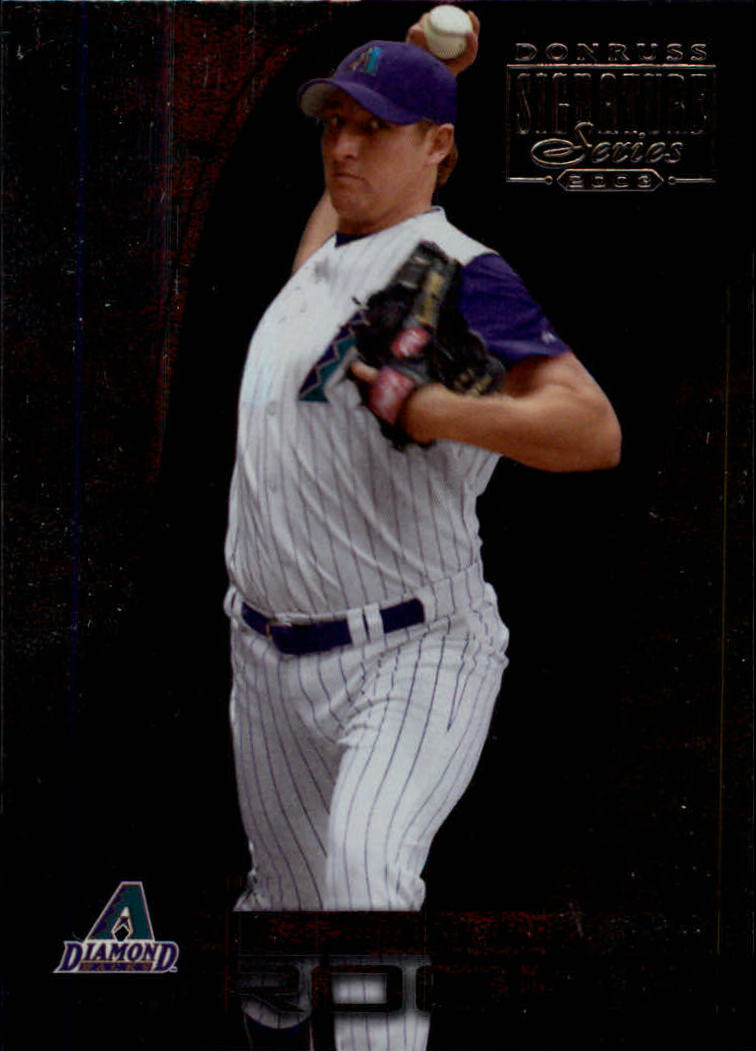 2003 Donruss Signature #111 Brandon Webb ROO RC