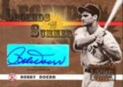 2003 Donruss Signature Legends of Summer Autographs #8 Bobby Doerr