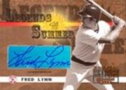 2003 Donruss Signature Legends of Summer Autographs #16 Fred Lynn