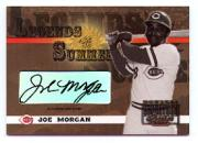 2003 Donruss Signature Legends of Summer Autographs #22 Joe Morgan SP/125
