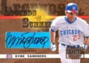 2003 Donruss Signature Legends of Summer Autographs #36 Ryne Sandberg SP/75
