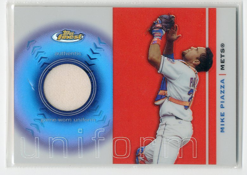 2003 Finest Uniform Relics #MP Mike Piazza C