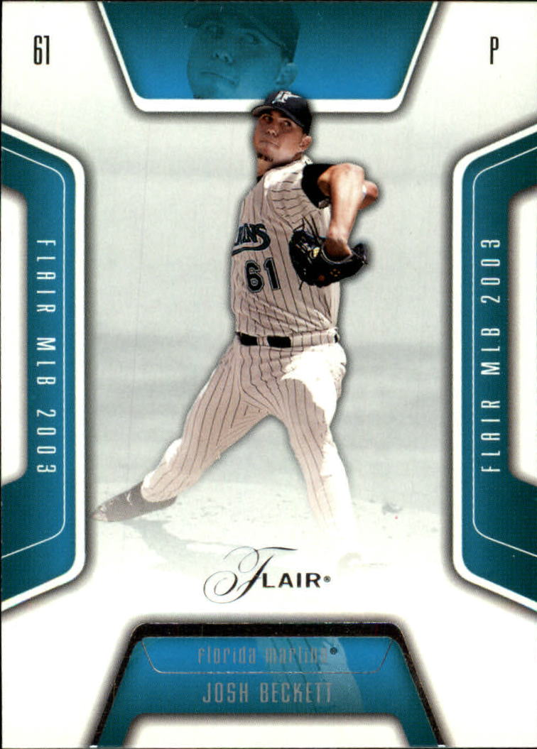 2003 Flair #42 Josh Beckett