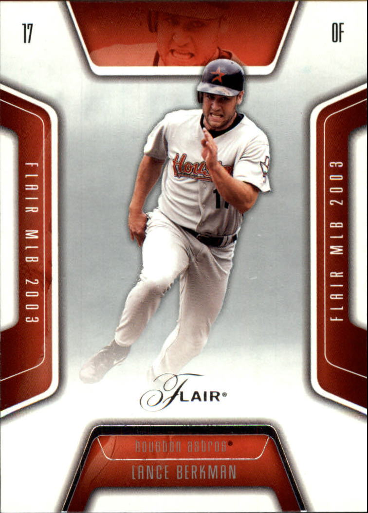 2003 Flair #52 Lance Berkman