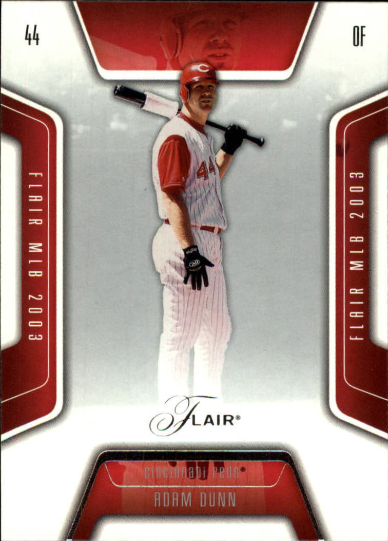 2003 Flair #88 Adam Dunn