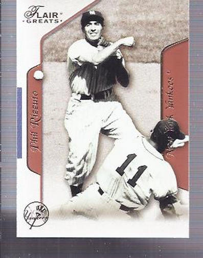 2003 Flair Greats #10 Phil Rizzuto front image
