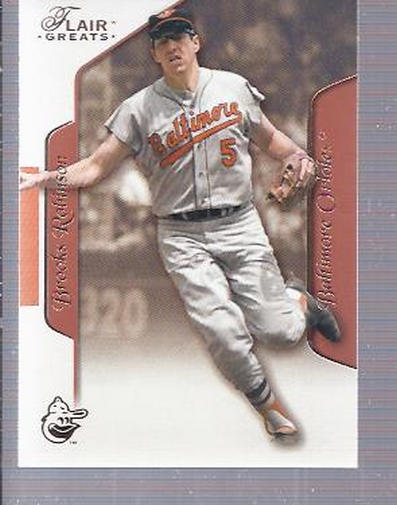 2003 Flair Greats #17 Brooks Robinson