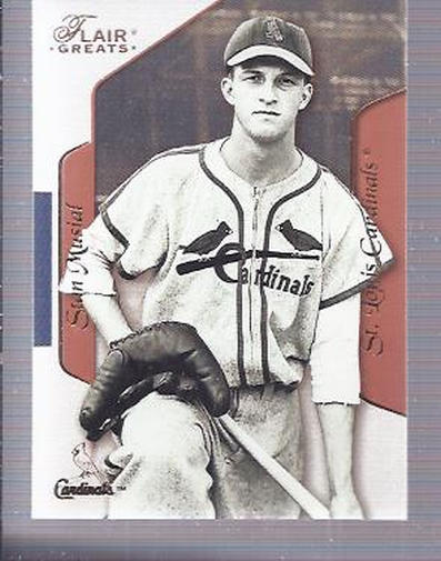 2003 Flair Greats #22 Stan Musial
