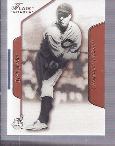2003 Flair Greats #38 Bob Feller
