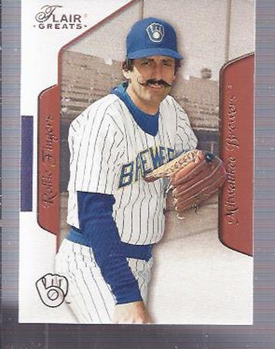 2003 Flair Greats #42 Rollie Fingers