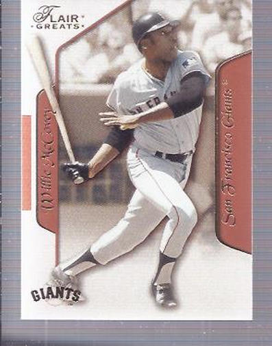 2003 Flair Greats #48 Willie McCovey