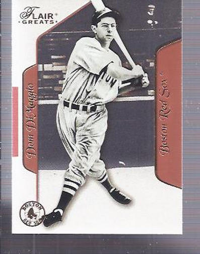 2003 Flair Greats #53 Dom DiMaggio