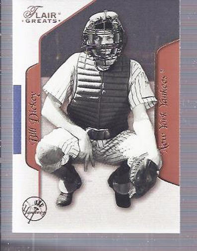 2003 Flair Greats #71 Bill Dickey front image