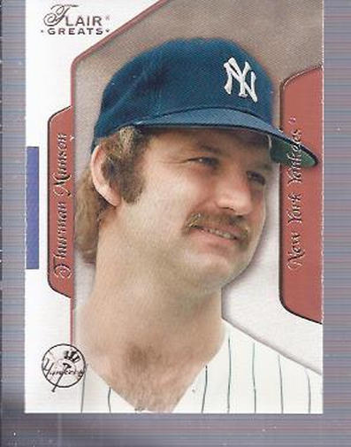 2003 Flair Greats #88 Thurman Munson