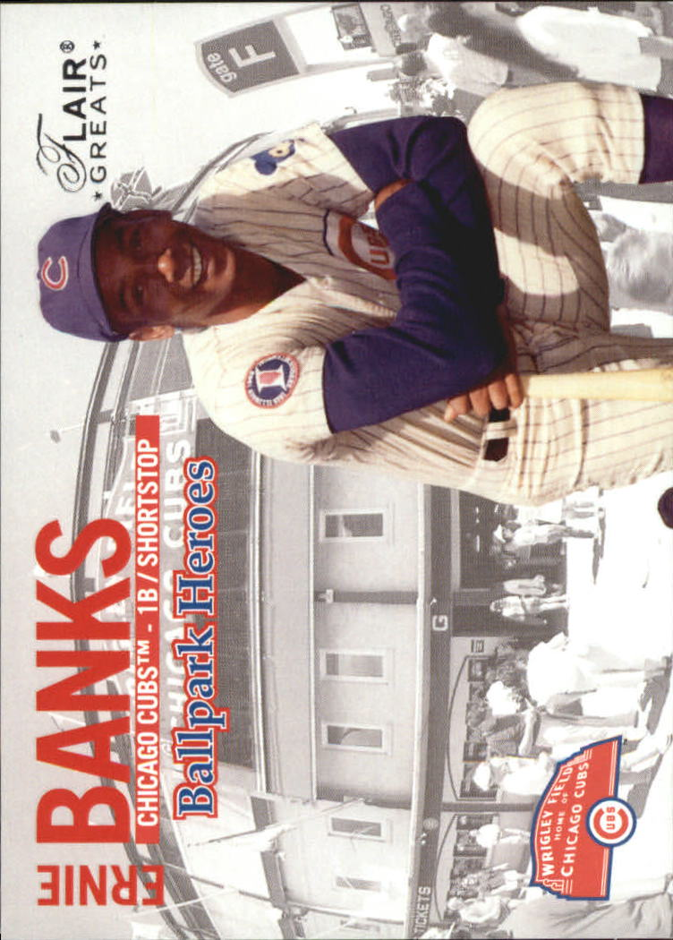 2003 Flair Greats Ballpark Heroes #5 Ernie Banks