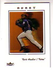 2003 Fleer Avant #19 Torii Hunter