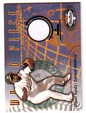 2003 Fleer Box Score World Piece Game Jersey #MT Miguel Tejada