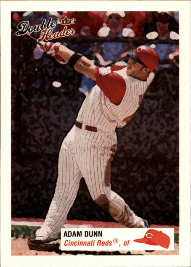 2003 Fleer Double Header #44 Adam Dunn