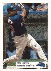 2003 Fleer Double Header #48 Torii Hunter