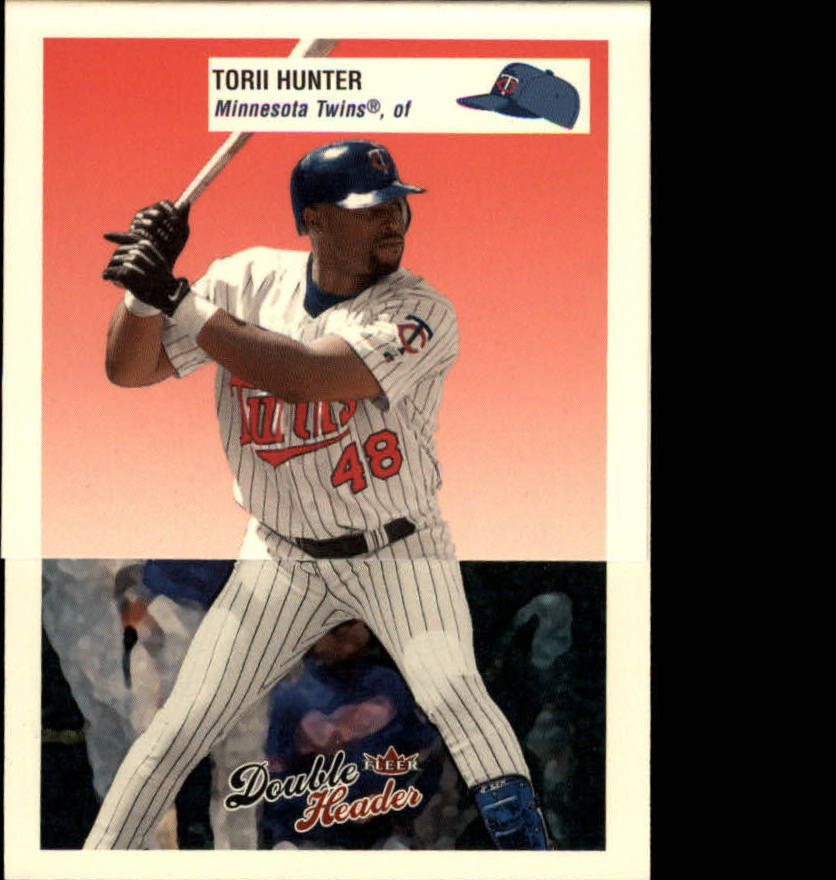 2003 Fleer Double Header #261-62 T.Hunter/V.Guerrero AS