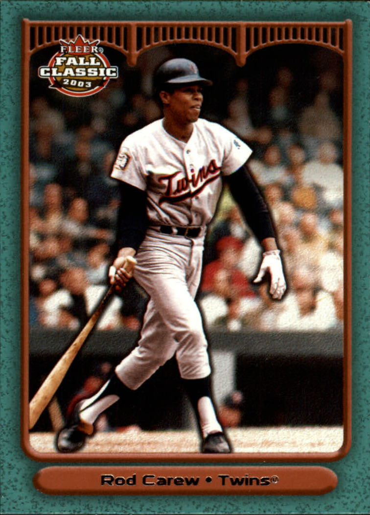 2003 Fleer Fall Classics #1 Rod Carew