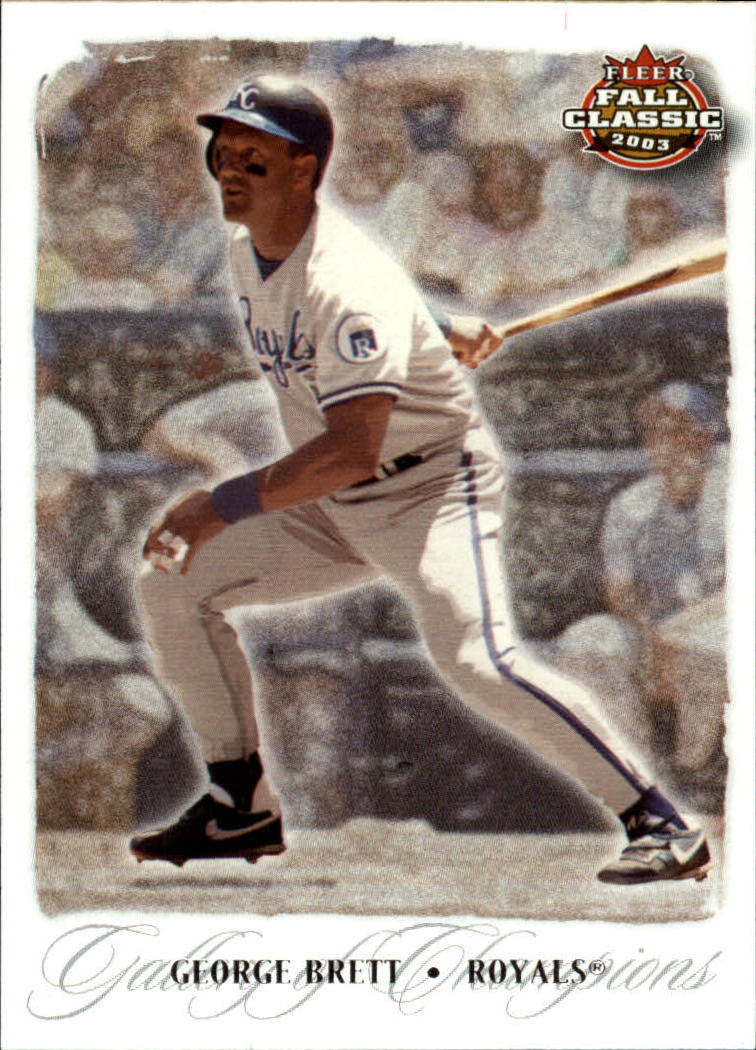 2003 Fleer Fall Classics #72 George Brett GC