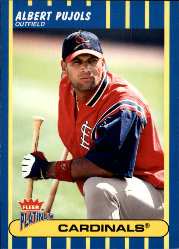 2003 Fleer Platinum #54 Albert Pujols