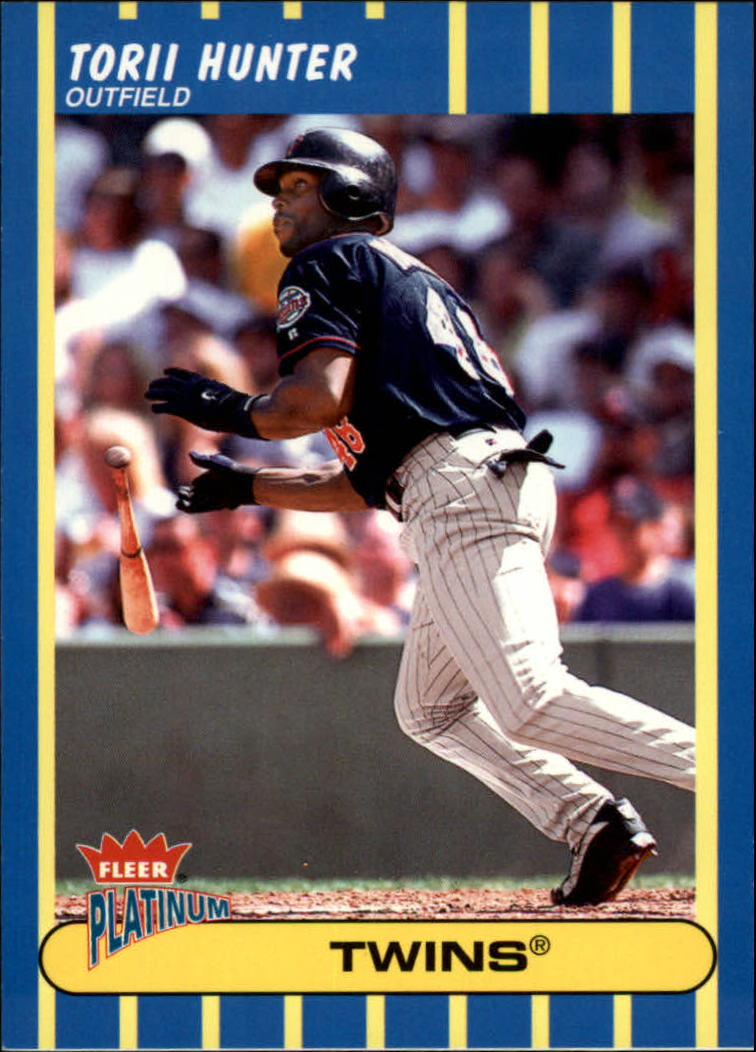 2003 Fleer Platinum #153 Torii Hunter