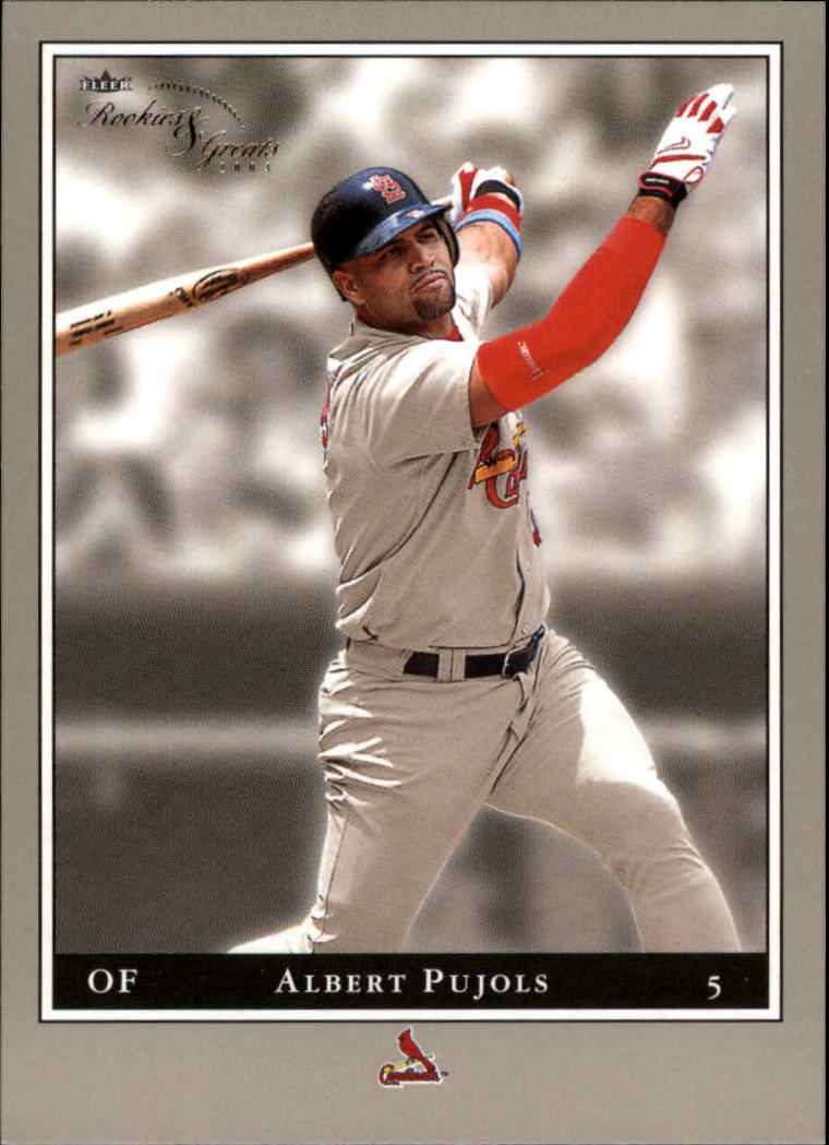 2003 Fleer Rookies and Greats #32 Albert Pujols