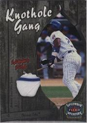 2003 Fleer Splendid Splinters Knothole Gang Game Jersey #SS Sammy Sosa