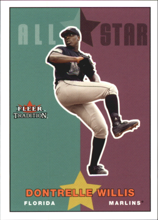 2003 Fleer Tradition Update Glossy #241 Dontrelle Willis AS