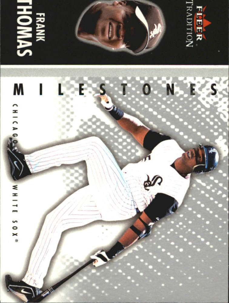 2003 Fleer Tradition Update Milestones #16 Frank Thomas