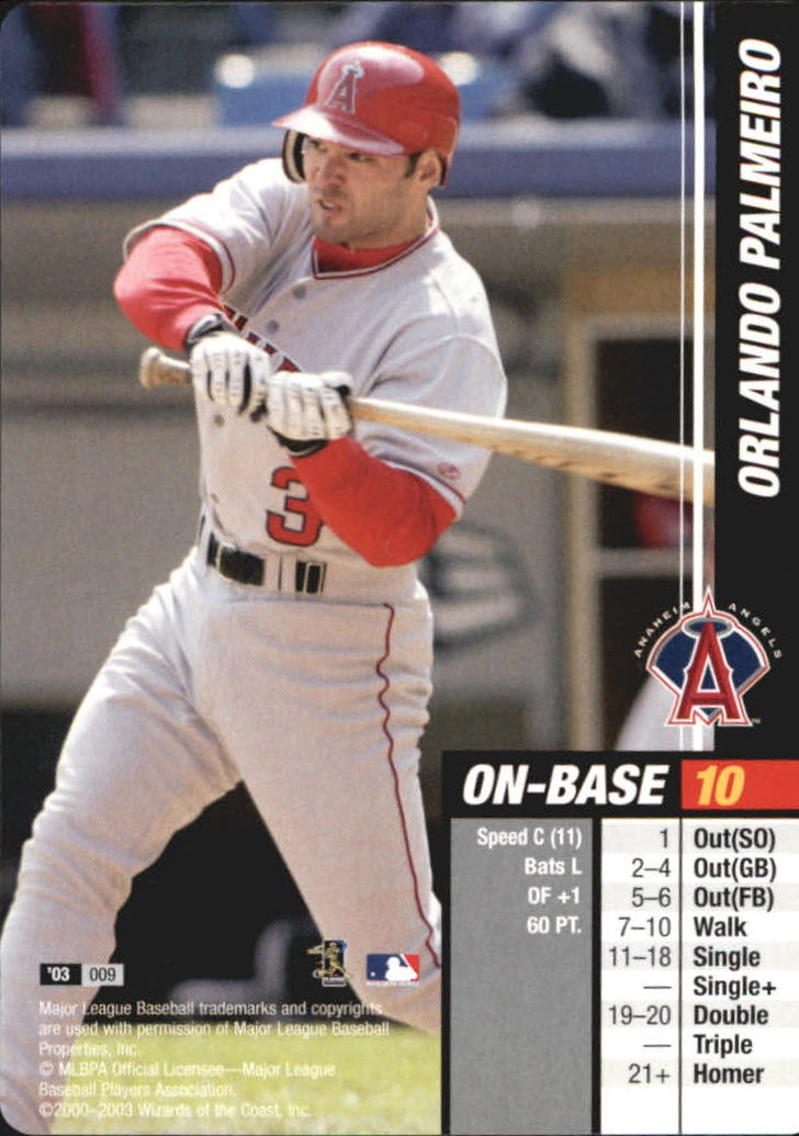 2003 MLB Showdown #9 Orlando Palmeiro