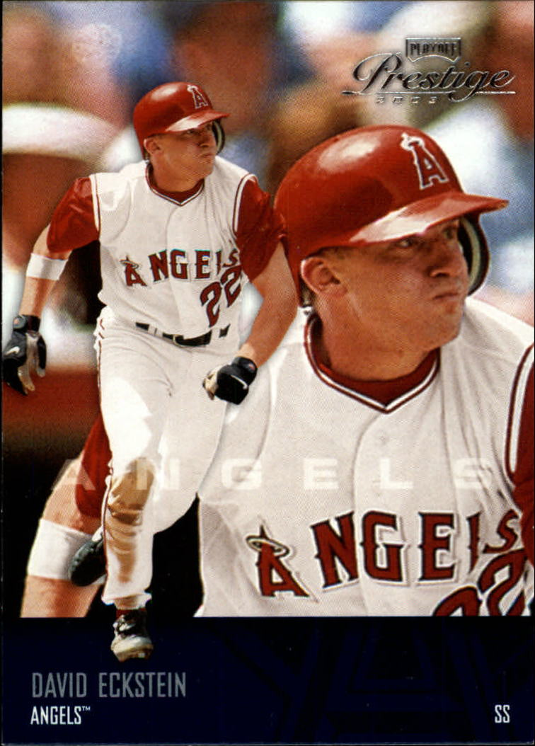 2003 Playoff Prestige #2 David Eckstein