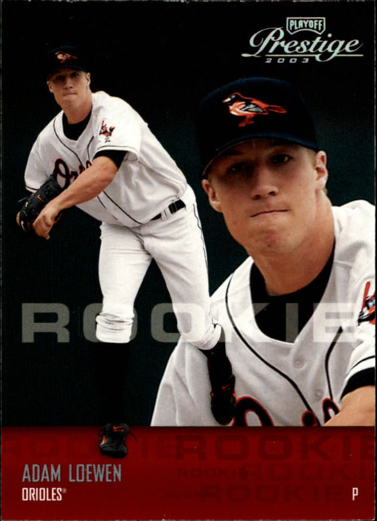 2003 Playoff Prestige #203 Adam Loewen ROO RC