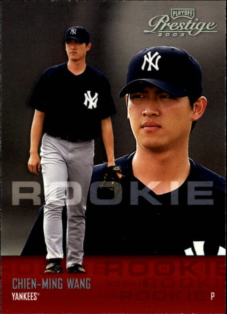2003 Playoff Prestige #204 Chien-Ming Wang ROO RC