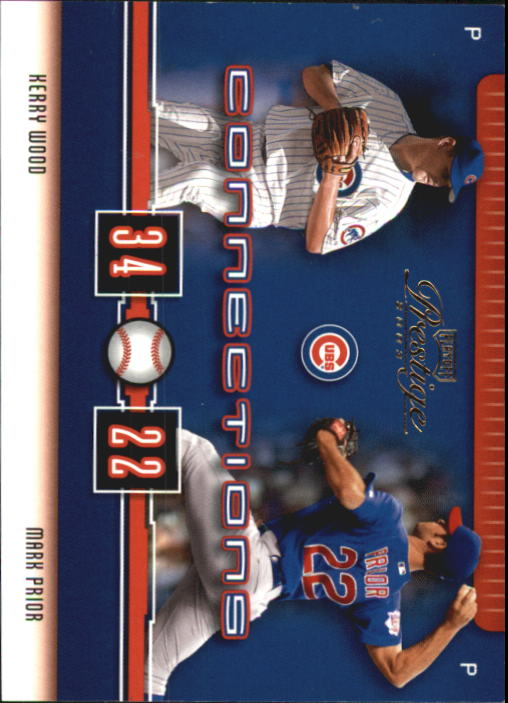 2003 Playoff Prestige Connections #13 K.Wood/M.Prior