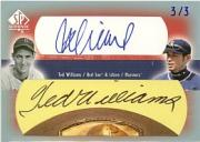 2003 SP Authentic Splendid Signatures Pairs #IS2 Ted Williams/Ichiro Suzuki