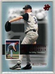2003 SP Authentic Superstar Flashback #SF5 Curt Schilling