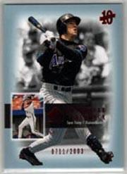 2003 SP Authentic Superstar Flashback #SF6 Steve Finley