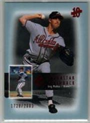 2003 SP Authentic Superstar Flashback #SF7 Greg Maddux