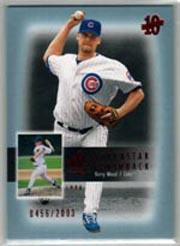 2003 SP Authentic Superstar Flashback #SF16 Kerry Wood