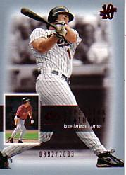 2003 SP Authentic Superstar Flashback #SF29 Lance Berkman