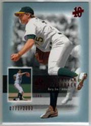 2003 SP Authentic Superstar Flashback #SF44 Barry Zito