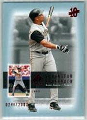 2003 SP Authentic Superstar Flashback #SF49 Aramis Ramirez