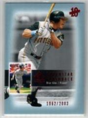 2003 SP Authentic Superstar Flashback #SF50 Brian Giles