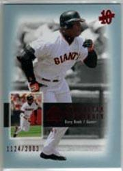 2003 SP Authentic Superstar Flashback #SF52 Barry Bonds
