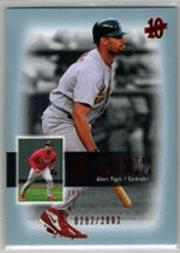 2003 SP Authentic Superstar Flashback #SF56 Albert Pujols