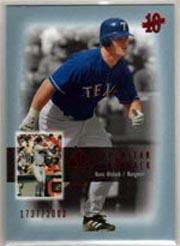 2003 SP Authentic Superstar Flashback #SF58 Hank Blalock