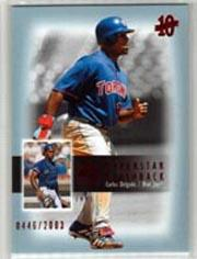 2003 SP Authentic Superstar Flashback #SF59 Carlos Delgado